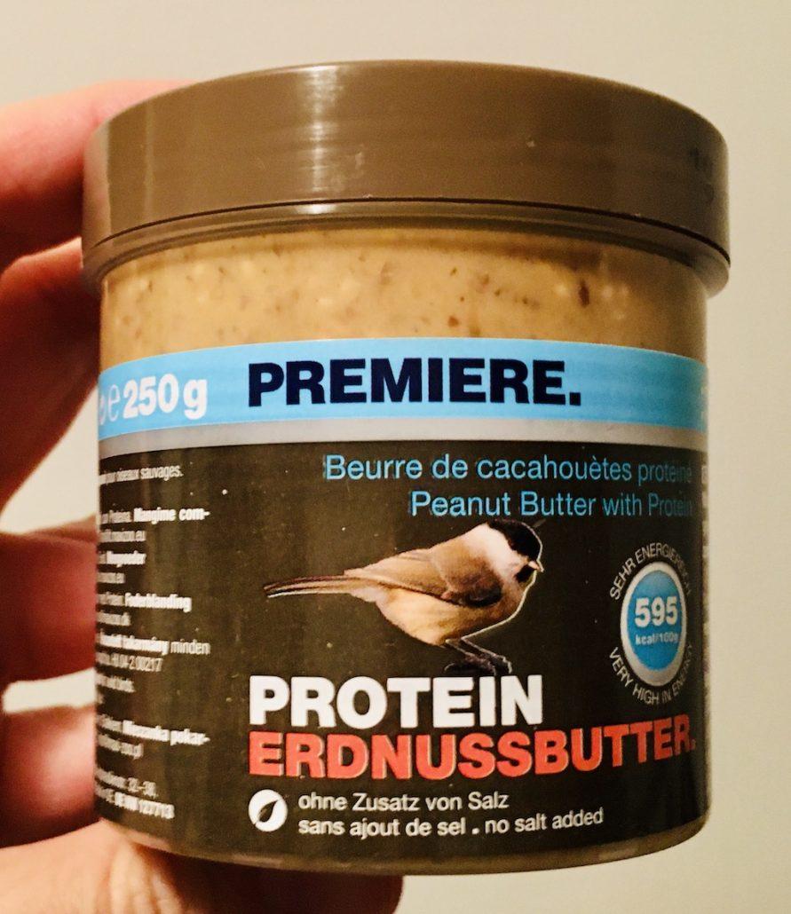 Premiere Protein Erdnussbutter für Vögel