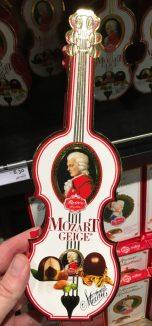 Reber Mozartgeige Mozartkugeln Duty Free