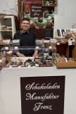 Schokoladen Manufaktur Franz mit Inhaber Martin Franz aus Berlin Grüne Woche 2020