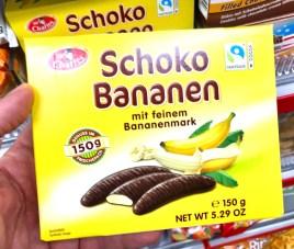 Sir Charles Schoko Bananen mit Bananenmark 150 Gramm