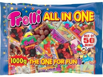 Trolli All in One 1000 Gramm The One for Fun