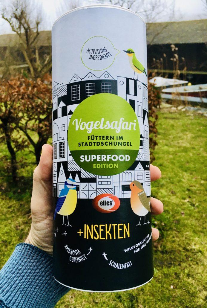 Vogelsafari Superfood Edition mit Insekten