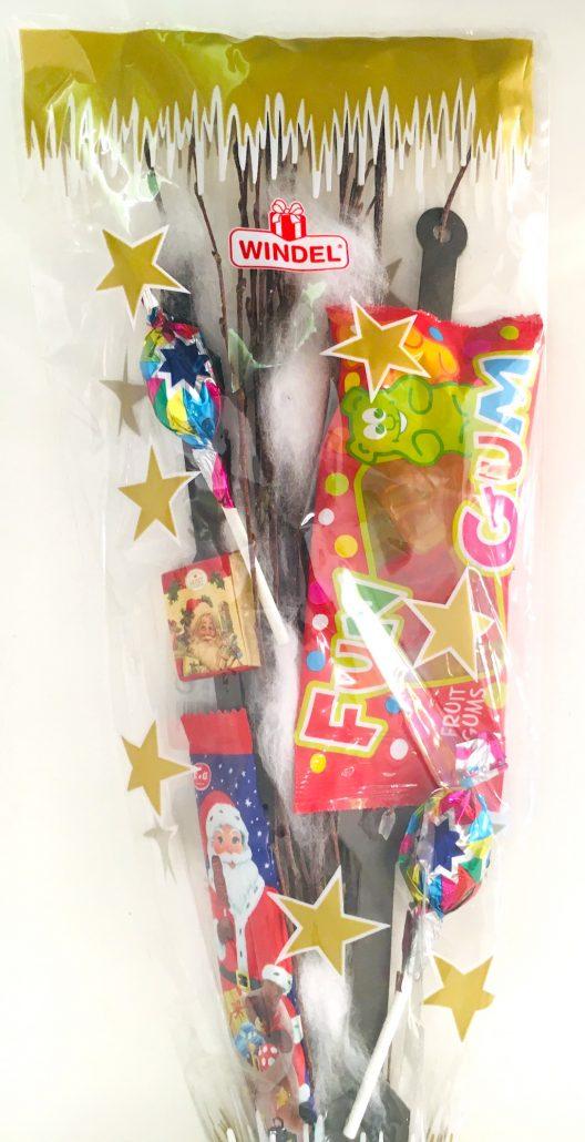 Windel Nikolausrute mit Sßigkeiten