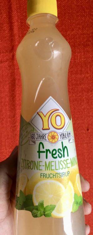 Yo Fresh Zitrone-Melisse-Minze Fruchtsirup Österreich