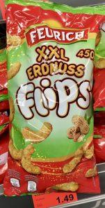 Aldi Feurich XXL Erdnuss Flips 450 Gramm