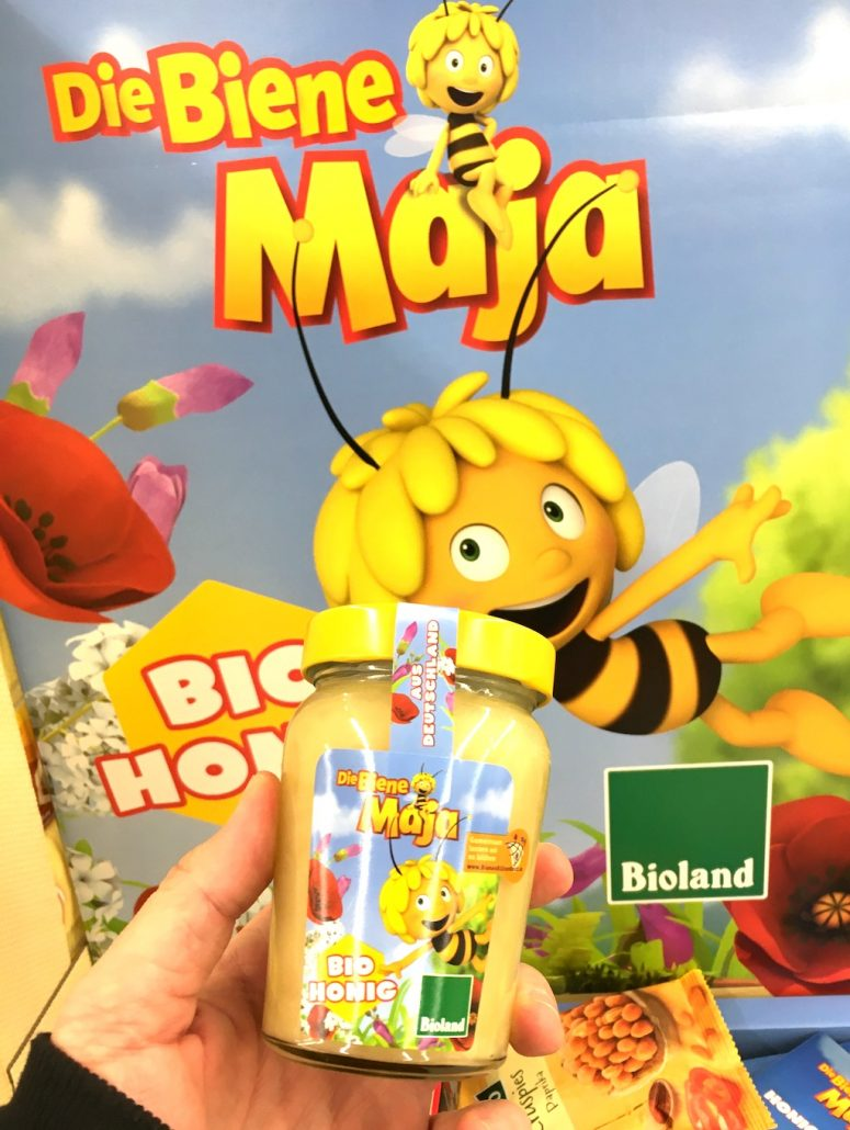 Bioland Biene Maja Honig Glas