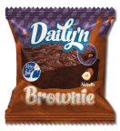 Einzeln verpackter Brownie von Daily'n ohne Palmöl.