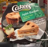 Cakees Apfel-Kuchen American Style Apple Pie 500 Gramm Fertigkuchen2007