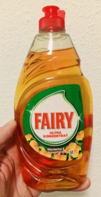 Fairy Ultra Konzentrat Mandarine+Ingwerblüte Handspülmittel