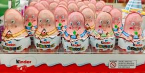Ferrero Kinder Überraschung Glücksschwein Motiv SIlvester