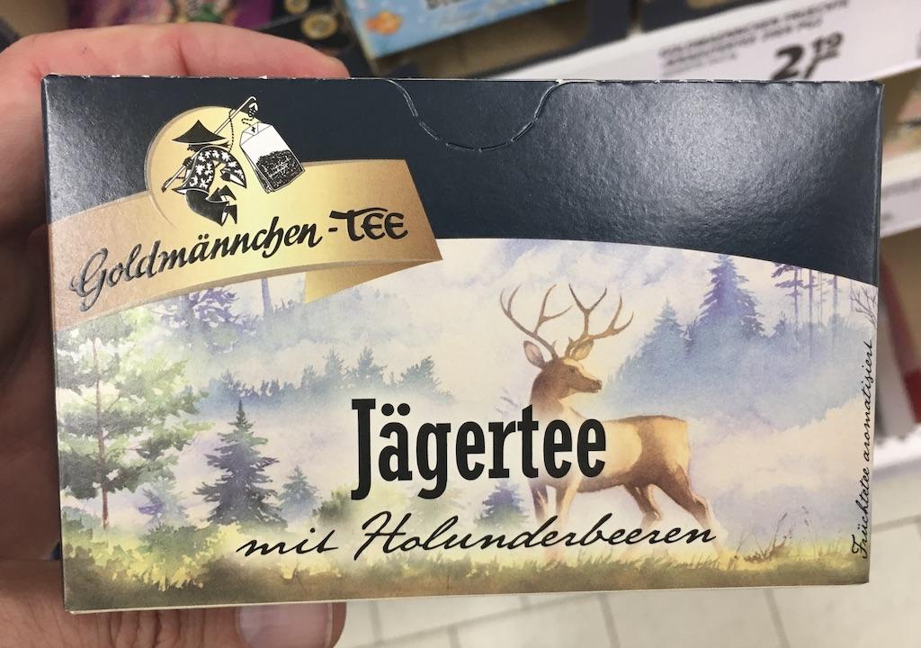 Goldmännchen-Tee Jägertee mit Holunderbeeren