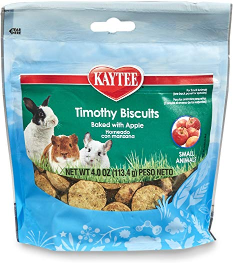 Kaytee Timothy Biscuits Baked with Apple for small animals