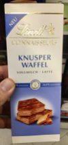 Lindt Connaisseurs KnusperWaffel Vollmilch