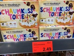 Nawarra Aldi Do it yourself Schaumkuss-Torte