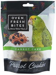 Oven Fresh Bites Carrot Cake Parrot Cookies