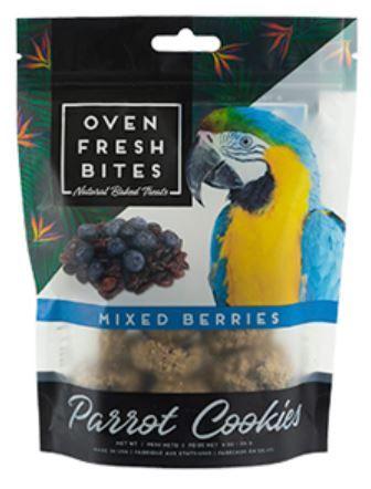 Oven Fresh Bites mixed Berries Parrot Cookies