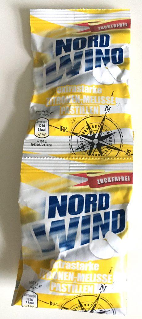 PEZ Nordwind Pastillen Zitrone-Melisse Zuckerfrei