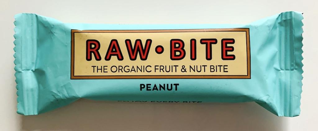 Raw Bite The organic Fruit+Nt Bite Peanut