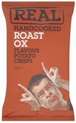 Real Handcooked Crisps Roast OX