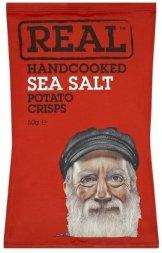 Real Handcooked Crisps Sea Salt
