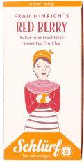 Schlürf Tee Frau Hinrich's Red Berry Zeichnung