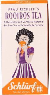 Schlürf Tee Frau Ricklef's Rooibos Tea
