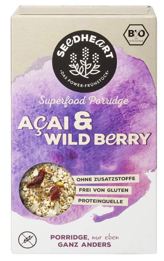 Seedheart Superfood Porridge Acai+Wild Bery