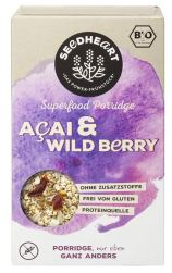 Seedheart Superfood Porridge Acai+Wild Bery