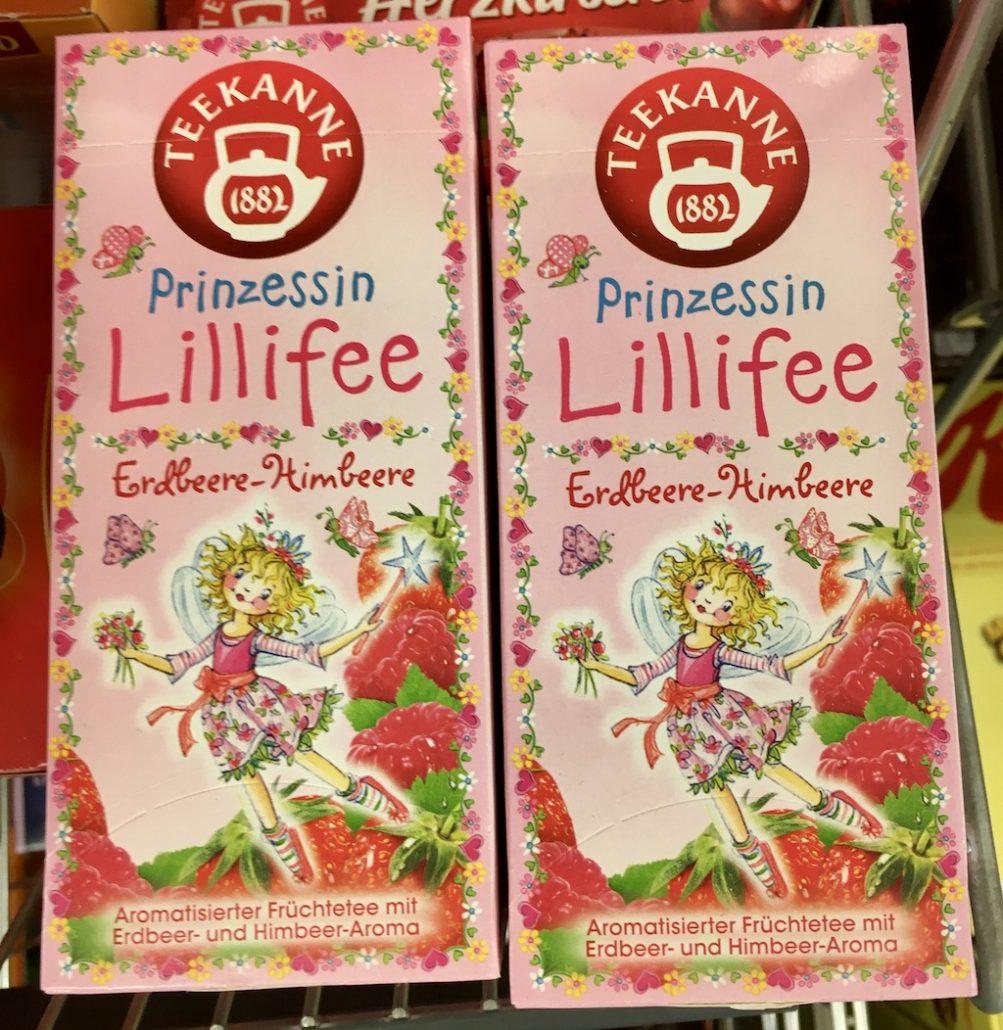 Teekanne Prinzessin Lillifee Erdbeere-Himbeere Teebeutel
