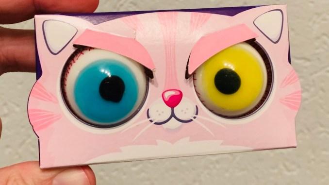 Trolli Glubschaugen 2er-Packung Katzengesicht