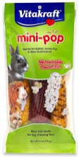 Vitakraft mini-pop Microwavable Popcorn Fun for Pet Rabbits-Guinea Pigs