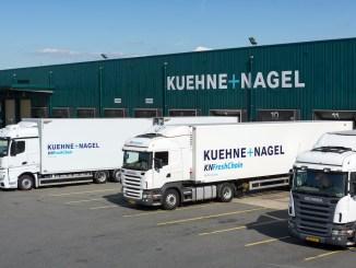 Lebensmittel-Logistik ©Kuehne+Nagel INC 2017