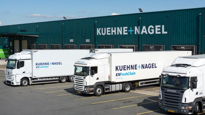 Lebensmittel-Logistik ©Kuehne+Nagel INC 2017
