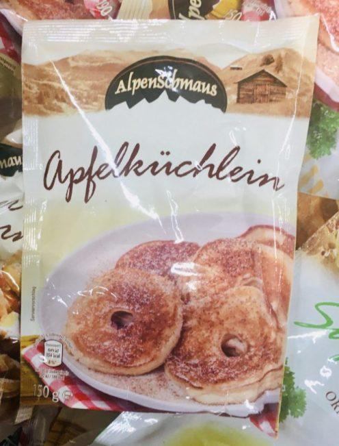 Alpenschmaus Apfelküchlein Backmischung 150 Gramm