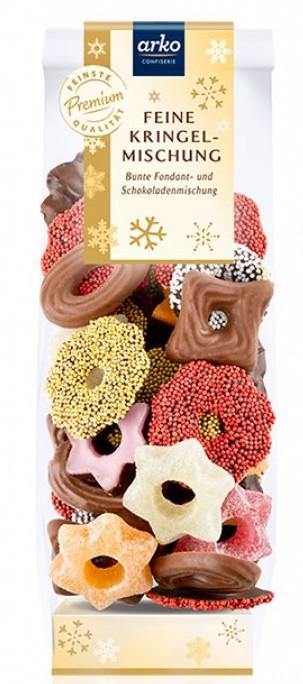 Arko Feine Kringel-Mischung Fondant- und Schokoladenmischung