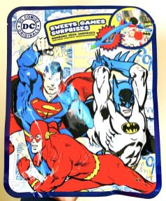 DC Comics Original Sweets Games Surprises Batman Superman Flash
