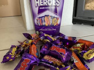 Cadbury Heroes mit Inhalt