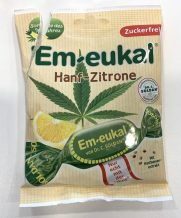 Em-eukal Hanf-Zitrone Halsbonbon