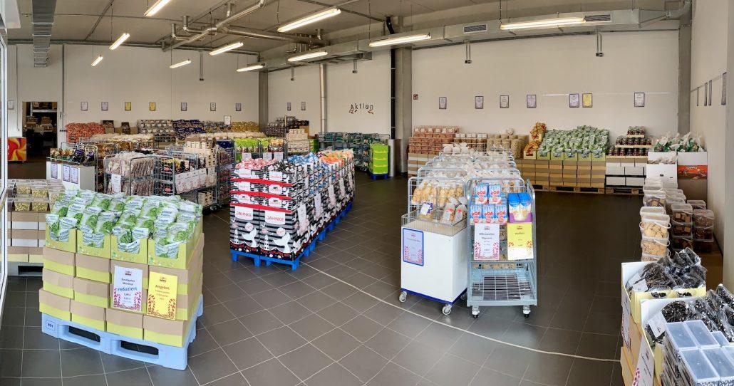 Fabrikverkauf Sweettec Boitzenburg Innen
