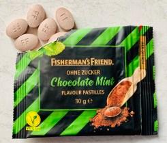 Fisherman's FriendChocolate Mint ohne Zucker Flavour Pastilles 30 Gramm
