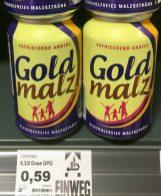 Goldmalz Alkoholfreies Malzgetränk