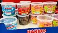 Haribo Trommeln Schlümpfe Happy Cola-Pfirsiche-Erdbeerens
