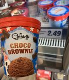 Lidl Gelatelli Eiskrem Pint Choco Brownie