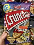 Lorenz Chrunchips Gitterchips gesalzen Comic-Look