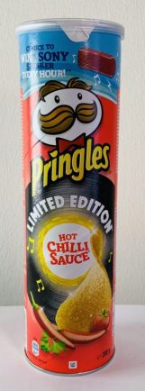 Pringles Limited Edition Hot Chilli Sauce