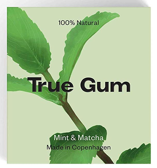 True Gum Mint+Matcha Made in Copenhagen