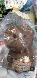 Aldi Glücksschwein aus Vollmilchschokolade Neujahr 2020