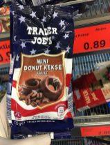 Aldi Trader Joe's Mini Donut Kekse Kaffee-Geschmack