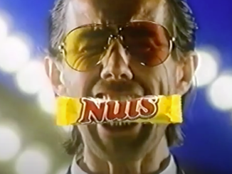 Ausriss Nuts-Werbevideo 1988
