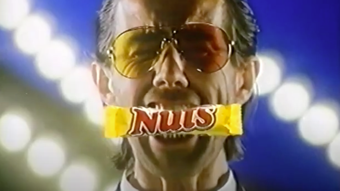 Ausriss Nuts-Werbevideo 1988
